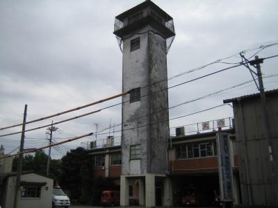 解体前の旧中原消防署