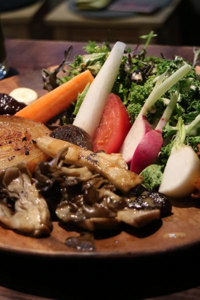 ランチの「野菜プレート」
