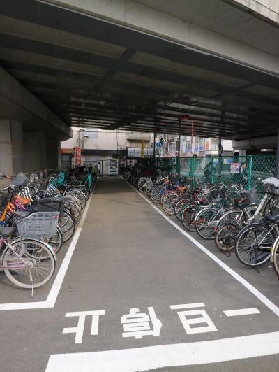 東急線高架下の「TOBU PARK武蔵小杉駅駐輪場」