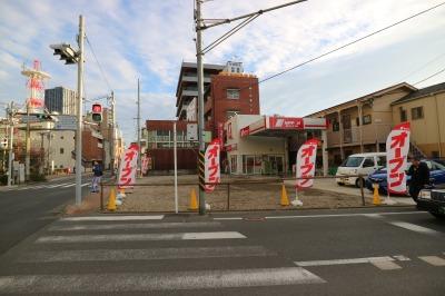 再オープンした「ニッポンレンタカー中原区役所間営業所」