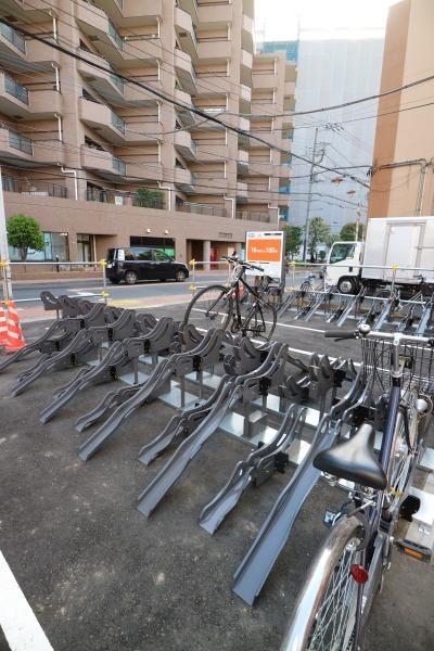 機械式の駐輪設備