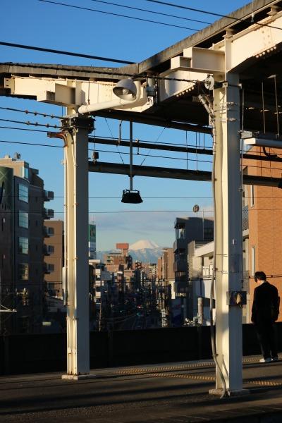 武蔵中原駅ホーム