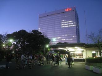 富士通川崎工場クリスマスイベント開場直前