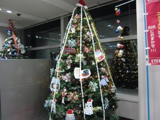 川崎工場長賞のクリスマスツリー