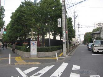 富士通川崎工場南東の広場予定地