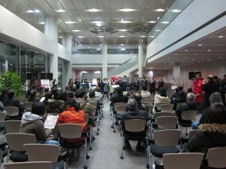 富士通コーラス部のコンサート