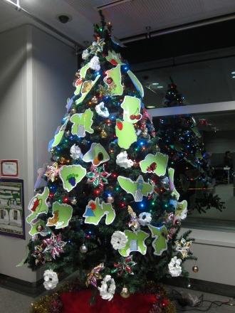 47都道府県のクリスマスツリー