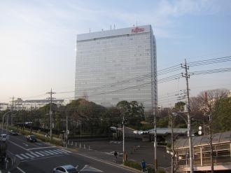 現在の富士通川崎工場