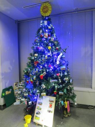 team友のクリスマスツリー「友の樹」