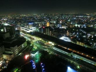 20階からの武蔵中原駅方面