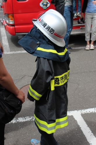 消防車撮影会