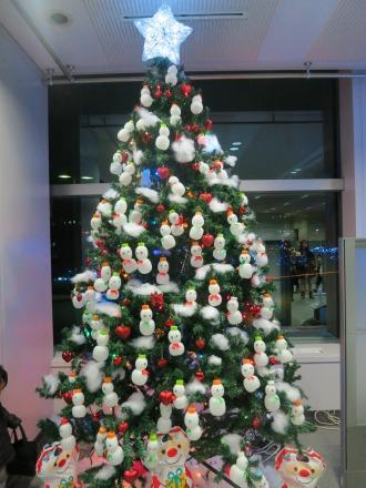 富士通川崎工場手話部のツリー「幸せをふくらまそう♪」