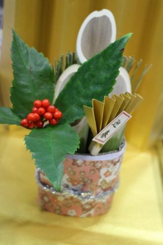 日中に開催される「竹細工教室」