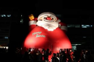 サンタクロースのふあふあ