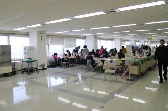 本館12階の食堂