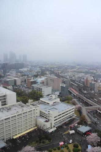 本館20階かあの眺望
