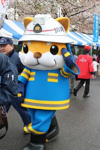 川崎市消防局のキャラクター「太助」