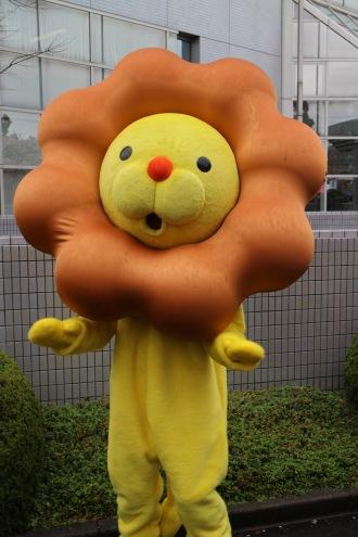 ミスタードーナツのキャラクター「ポン・デ・ライオン」