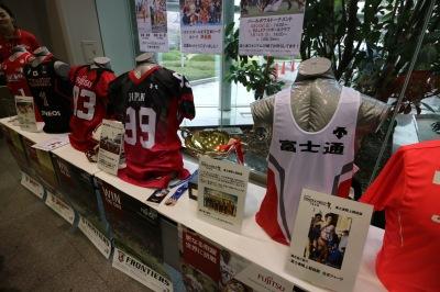 富士通スポーツのユニフォーム