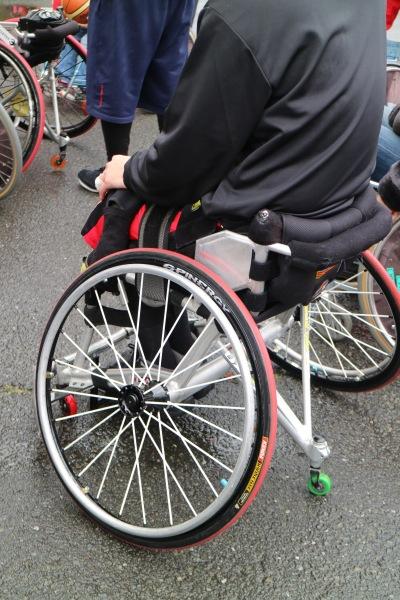 バスケットボール用の車椅子