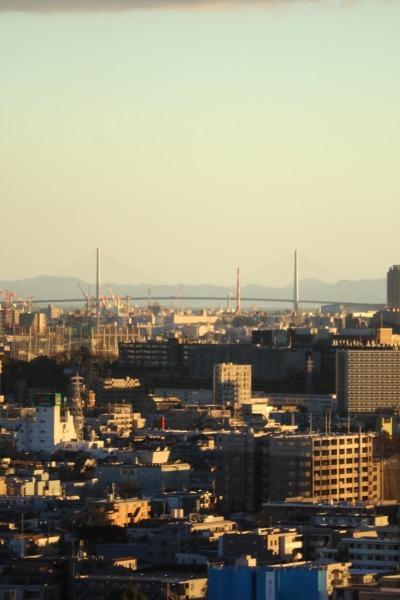 東京湾方面