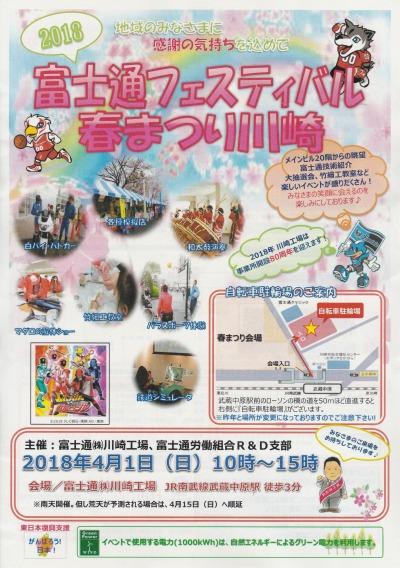 富士通フェスティバル春まつり川崎2018