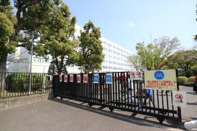 駐輪場として活用された富士通研究所