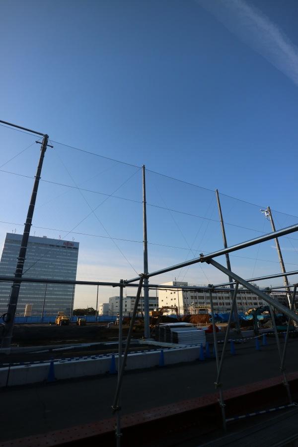 富士通川崎工場の多目的球技場建設地