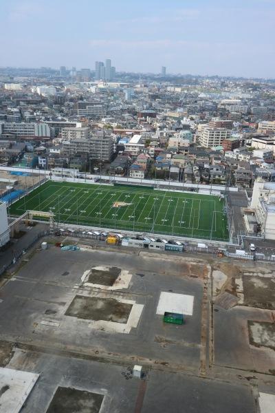 富士通フロンティアーズの練習拠点「富士通川崎工場FRONTIERS Field」