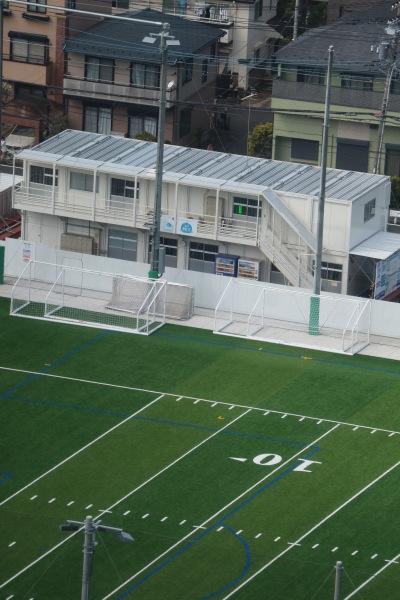 サッカーのゴール設備