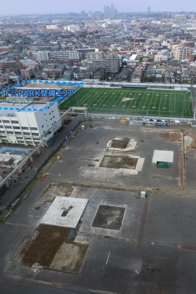 本館20階展望フロアから見た東京方面