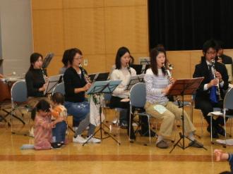 オーケストラの練習風景