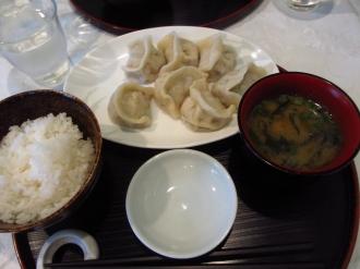 水餃子定食