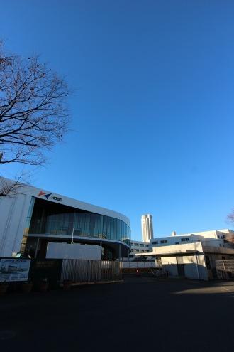 法政大学第二中・高等学校の新校舎