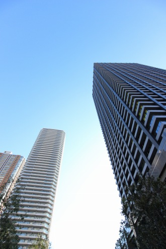 完成が近づく「シティタワー武蔵小杉」