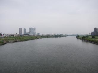 ガス橋から見る武蔵小杉