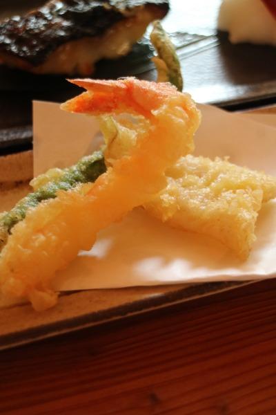 「柚子胡椒の天ぷら」