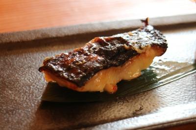 「銀鱈の西京焼き」