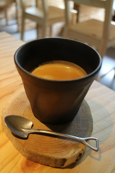 Aセットのコーヒー