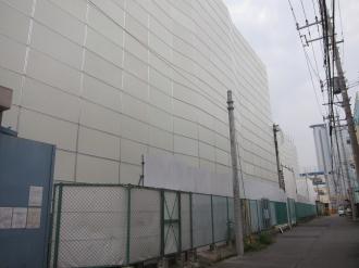 解体が始まったケーヒン川崎工場