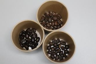 3種のコーヒー豆