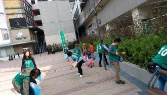グリーンバードの武蔵小杉駅での活動