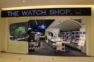 ダイバーシティ東京の「THE WATCH SHOP」