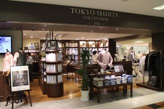 「TOKYO SHIRTS COLLECTION -2812-」八重洲地下街店