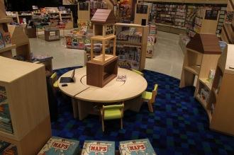 「紀伊國屋書店」のキッズスペース