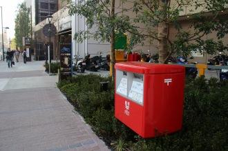 新設された郵便ポスト
