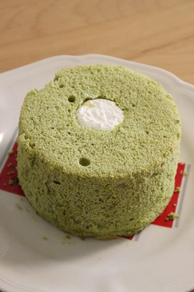 抹茶シフォン(Mサイズ・700円)