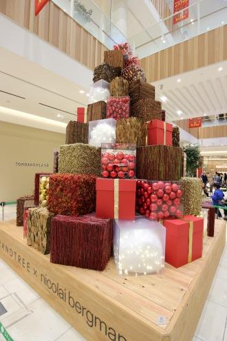 グランツリー武蔵小杉の2015クリスマスツリー