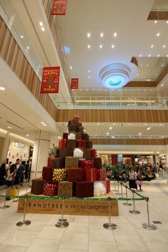 「AQUA DROP」とクリスマスツリー