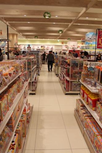 おもちゃ売り場が3倍に拡張「good day park」